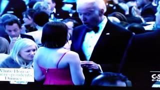 Creepy Uncle Joe Biden at it again
