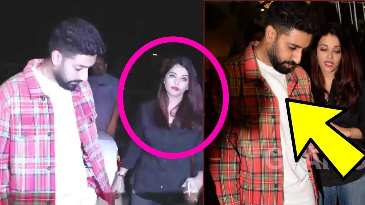 Aishwarya Rai Bachchan Showing So Much Attitude Vd Abhishek Bachchan In Bunty Walia Party