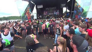 SYLAR Warped Tour Darien Center 7 13 17 from the pit AMERICAN MOSH PITS