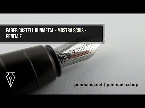 Stilou FABER CASTELL Loom Gunmetal - Mostra de scris