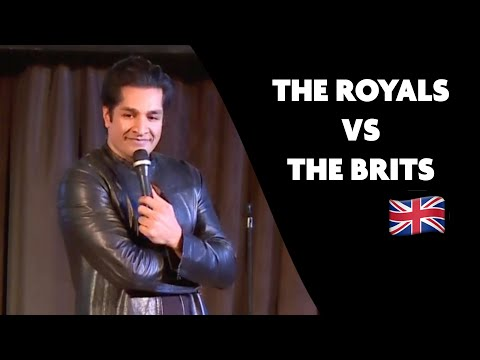 Sugar Sammy : The Royals vs The Brits | Stand-up comedy