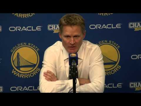 Steve Kerr: Emergence of Draymond Green has led to jump in Curry's game