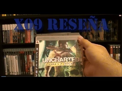X09 Reseña Uncharted Drake's Fortune para PS3