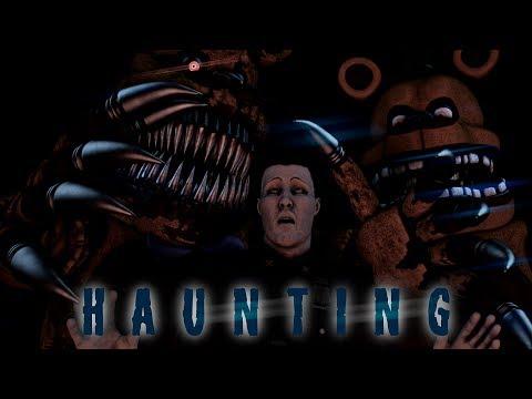 [Sfm/Fnaf] Haunting (by Halsey)
