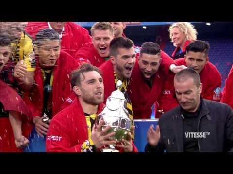 Sfeerverslag bekerfinale Vitesse vs AZ (2-0)