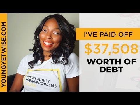 I've paid off $37,508 worth of debt | November Debt update