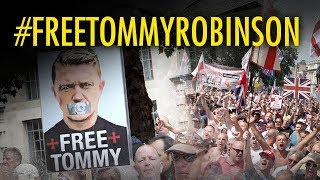 HIGHLIGHTS: Free Tommy Robinson rally July 14, 2018