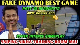 Relive FAKE DYNAMO ONCE AGAIN Fake Dynamo Best Game DYNAMO GAMING AWM Aggressive Gameplay PUBG MOBIL