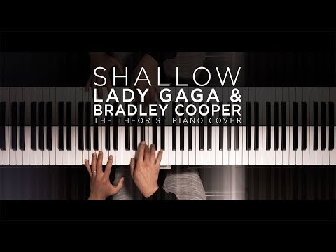 Lady Gaga & Bradley Cooper - Shallow | The Theorist Piano Cover