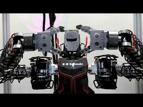 القمة العالمية للروبوت في طوكيو تسعى لحل أزمة نقص اليد العاملة في اليابان…  - 17:56-2018 / 10 / 18