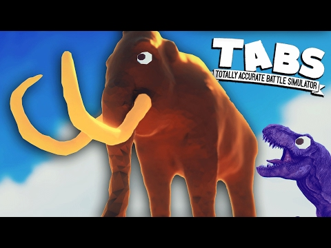 TABS Whooly MAMMOTH - Totally Accurate Battle Simulator Sandbox Gameplay (TABS)