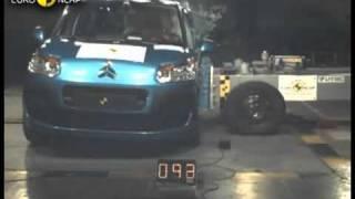 Краш тест Citroen C3 Picasso 2009 (E-NCAP)