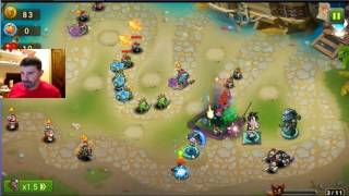 Magic Rush - War Guardian - Stages 1-3 Sept 27, 2016