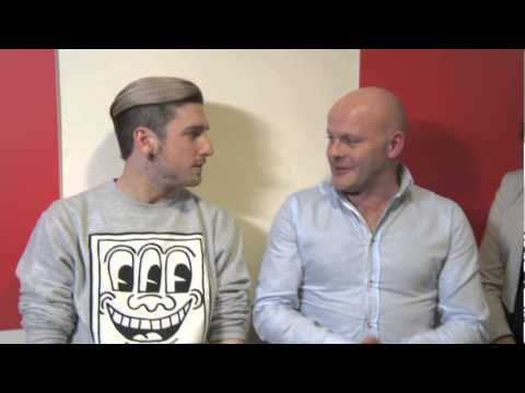 Ben Tighe  interview backstage at The Voice of Ireland