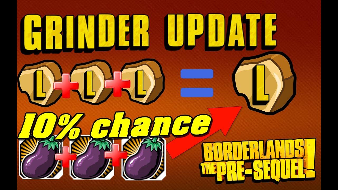 Grinder update guide amp steam giveaway borderlands the pre sequel