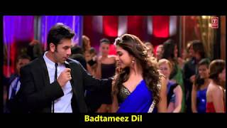 Badtameez Dil | Yeh Jawaani Hai Deewani |  Benny Dayal, Shefali Alvares | Pritam | Amitabh