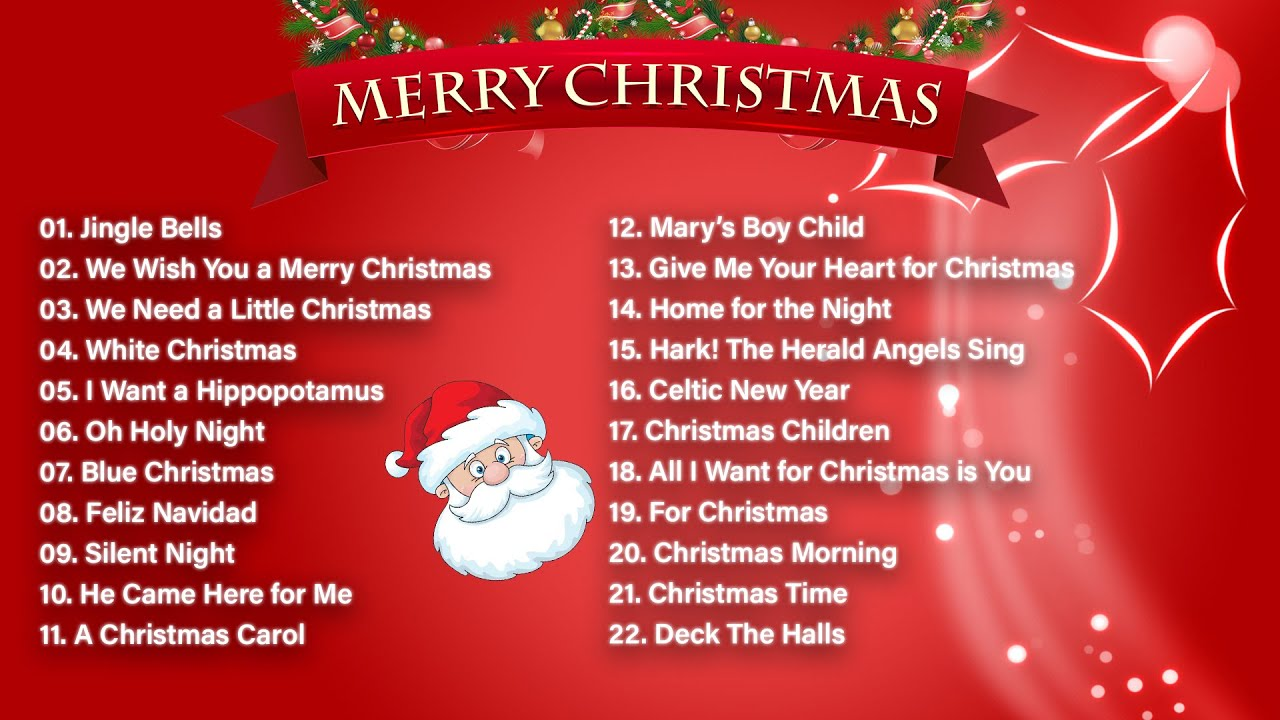 Classic Christmas Songs Playlist Best Christmas Music Mix Top Christmas Songs Playlist Youtube