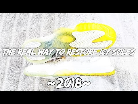 THE REAL WAY TO RESTORE ICY SOLES !!! (2018)