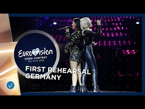 Germany 🇩🇪 - S!sters - Sister - First Rehearsal - Eurovision 2019