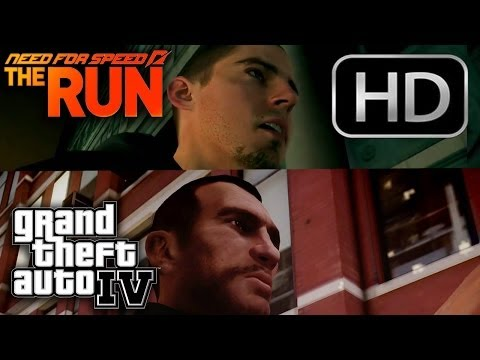 Need For Speed The Run Michael Bay Trailer GTA 4 Remake HD 720p