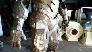 Over view of Real Steel Iron man suit (METAL) ( From the Vault )