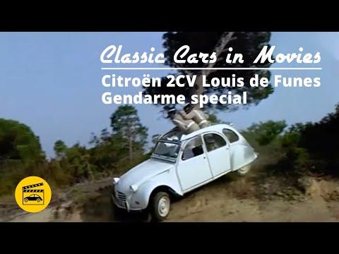 Classic Cars In Movies - Citroen 2CV Gendarme Special