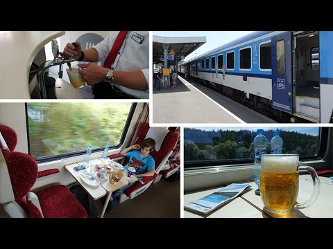 Prague to Munich by train - the civilised way...