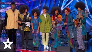 The Curtis Family C Notes Brought The House Down on America's Got Talent 2021 | Got Talent Global