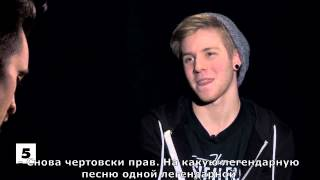 Panic! At The Disco's Brendon Urie Schools Patty Walters | Transmitter Hook Up  [rus_sub]
