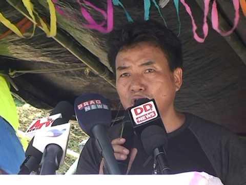 Rally against CM of Arunachal Pradesh by UOAPUnited Organization of Arunachal Pradesh Part 2