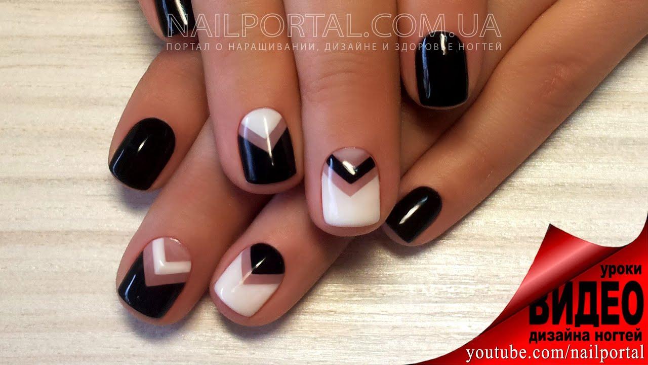 Ютуб дизайн ногтей гель лаком