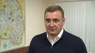 """Губернатор Тульской области подключился к программе ОНФ """"Прямая линия. Продолжение""""."""