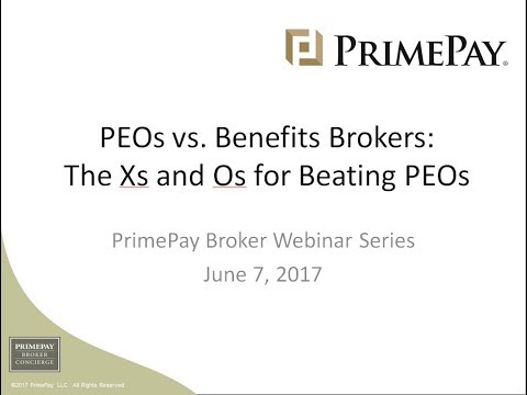 PEOs vs Benefits Brokers  The Xs and Os on Beating PEOs