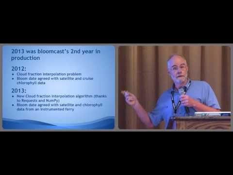 Bloomcast - Python Facilitating Operational Oceanography - Doug Latornell