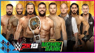 WWE Money In The Bank 2019: Men's Money In The Bank Ladder Match - WWE 2K19 Match Sims
