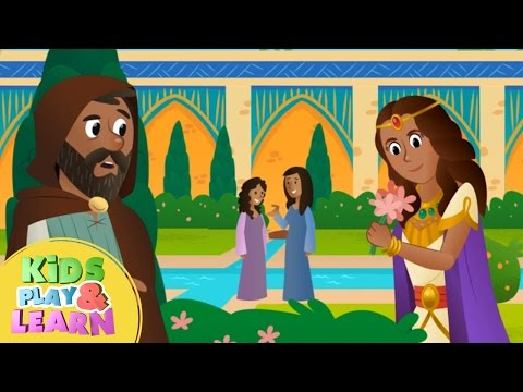Queen Esther Bible Story For Kids & Children