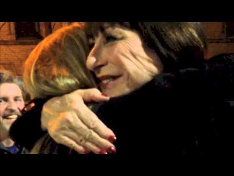 Meeting Anjelica Huston November 12th 2014 NYC
