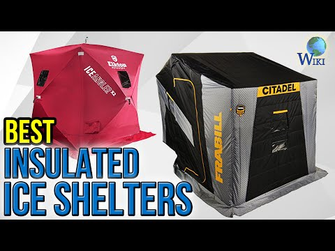 7 Best Insulated Ice Shelters 2017 - YouTube