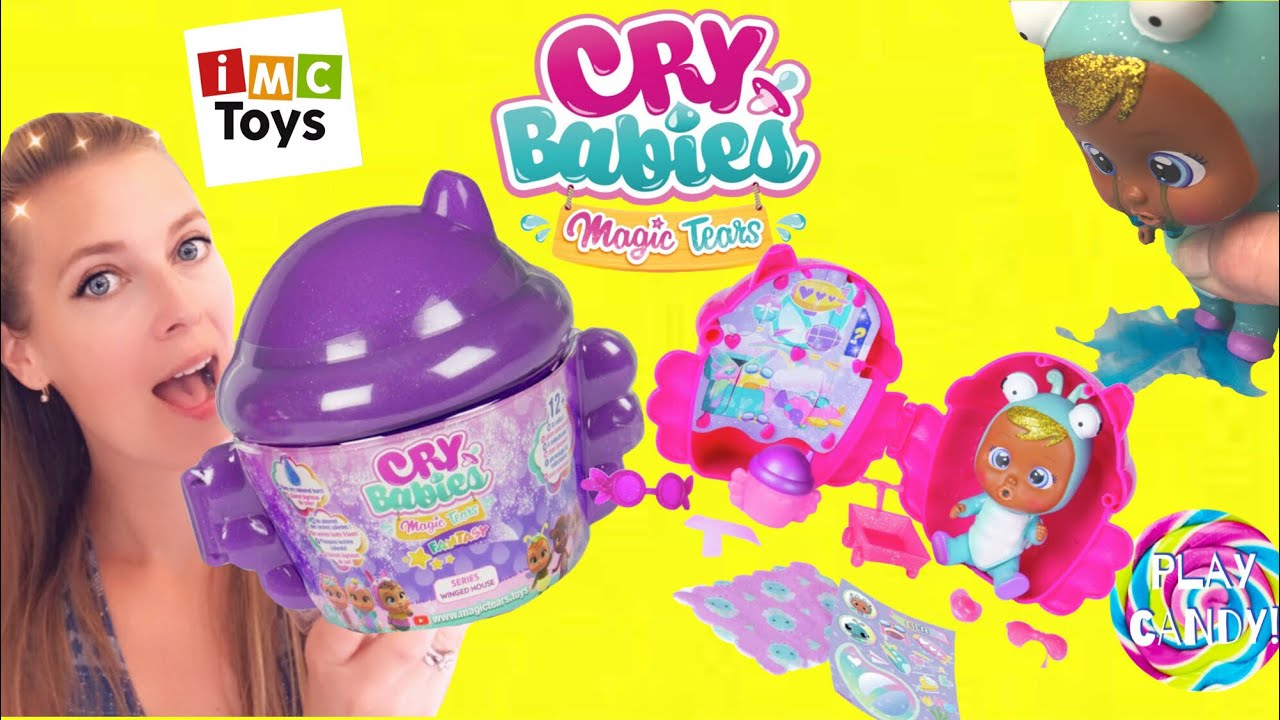 Brand New Wave Cry Babies Magic Tears Fantasy Winged