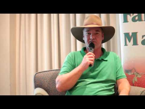 Guy Hamilton & Shane Stanley - Noosa Farmers Markets - Noosa Chamber of Commerce & Industry