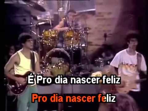 Barão Vermelho  Pro Dia Nascer Feliz - Karaoke