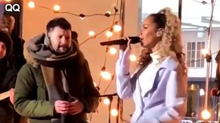 (Rehearsal) Calum Scott + Leona Lewis - You are the reason - live The One Show Video