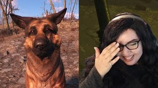 Funny moment - DOG GONE IT! | Fallout 4 Funny Moment (No Spoilers)