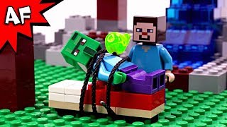 Lego Minecraft Zombie Villager Rescue