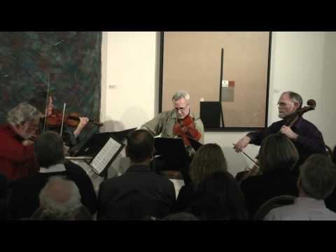 String Quartet, Op11 - II Molto adagio -- Molto allegro (Samuel Barber) - The Playground Ensemble