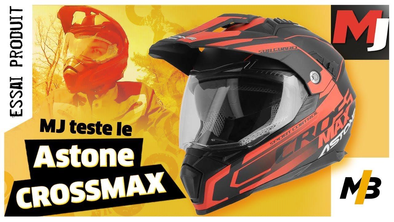 Test Casque Astone Crossmax Quelle Qualité Pour 159 Moto
