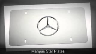 mercedes benz logo license plates 800 278 2818