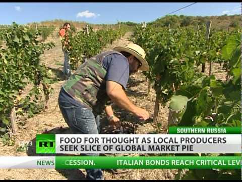 Growing Gourmet: Russia on World Food Map