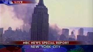 NBC 9/11/01 - End of Today Show to News Coverage