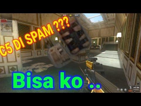 TRICK SPAM C5 DI LUXVILE JADI CT # POINT BLANK GARENA INDONESIA